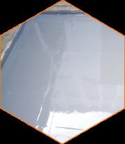Aromatic polyurethane coating.